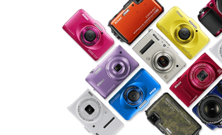 Nikon compact cameras